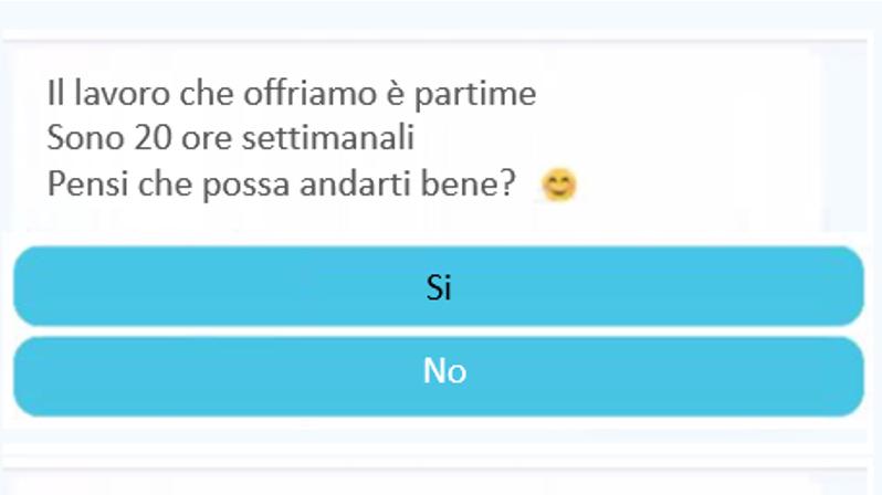 chatbot selezione del personale