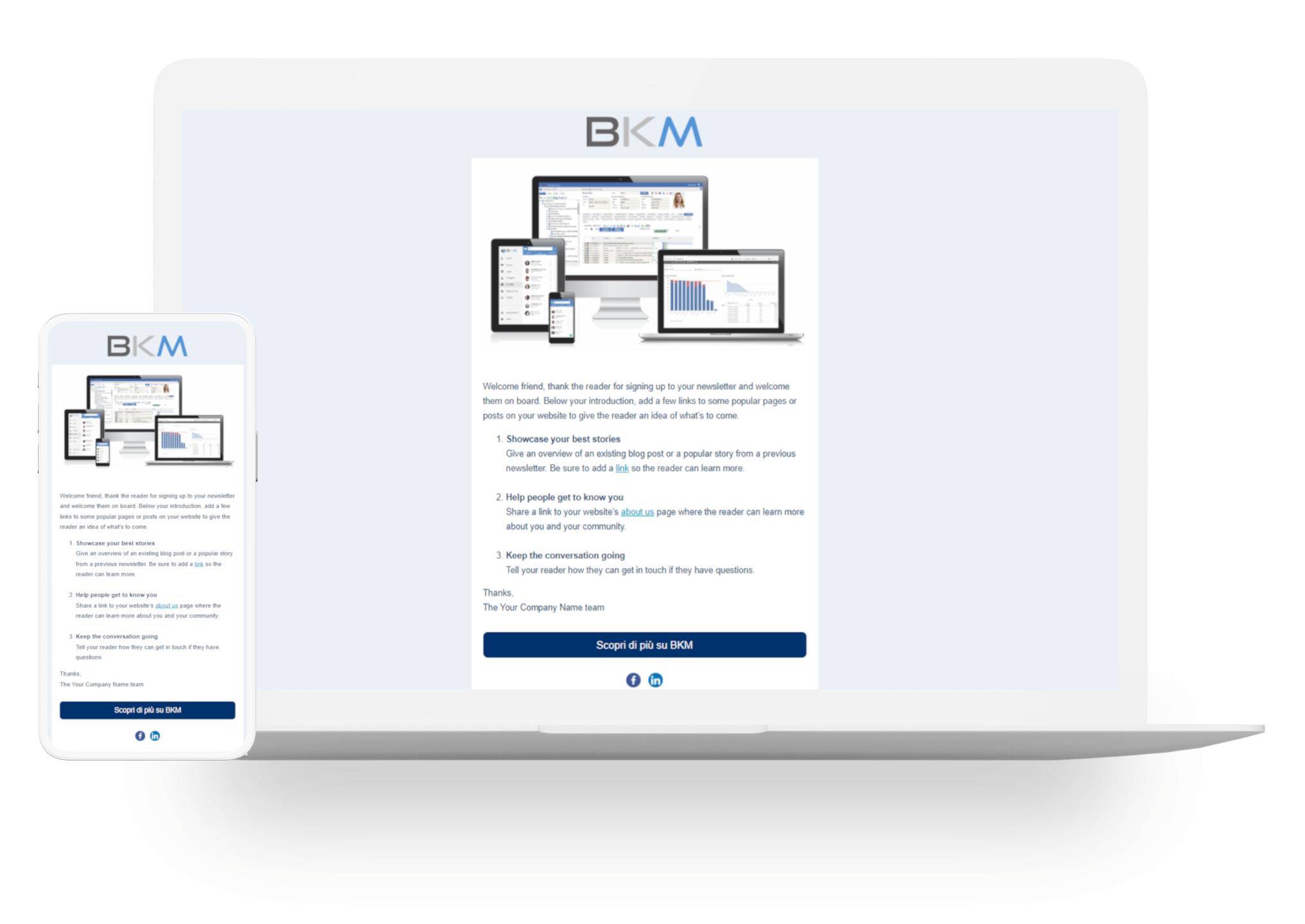 gestione campagne marketing e invio newsletter